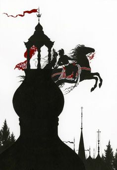 Myths and Legends of Russia, illustrations by Niroot Puttapipat for the Folio Society