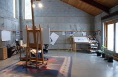 contemporary-artist-studio