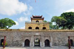 Hanoi - Secteur central de la cité impériale de Thang Long - #Hanoi - agence de voyage au #Vietnam - Horizon Vietnam Voyage