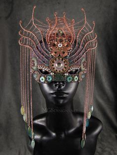 Melissa Grakowsky Shippee, beaded mask, see her FB page facebook.com/mgsdesigns.net