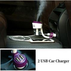 In Car Aromatic Diffuser With 2 USB Ports for Your Devices – Star Elegant