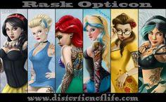 coolTop Disney Tattoo - Tattooed Disney Princess's...
