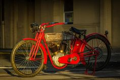 Another incredible machine from Steve McQueen's collection 1912 Harley Davidson X8E Big Twin