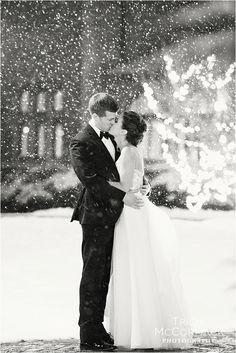Lauren and Brian's New Years Eve Wedding-Tricia McCormack Photography- New Years Wedding-Berkshire Wedding-Lenox MA-Snowy Wedding- Massachusetts -Cranwell Resort