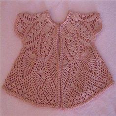 Exceptional Stitches Make a Crochet Hat Ideas. Extraordinary Stitches Make a Crochet Hat Ideas. Crochet Jumper, Crochet Coat, Crochet Blouse, Knitting For Kids, Crochet For Kids, Baby Knitting, Baby Girl Crochet, Crochet Baby Clothes, Gilet Rose
