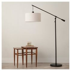Adjustable Drop Pendant Floor Lamp - Ebony (Includes CFL Bulb) - Threshold™