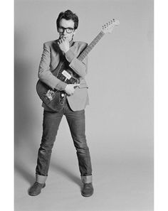 Elvis Costello invented geek chic.