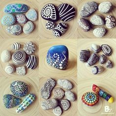 Rock Art is not just for kids! Let your imagination fly with I am an ARTIST this Sunday #artactivities #art #creati…