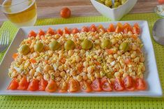 Tasty Vegetarian Recipes, Drinks Alcohol Recipes, Chicken Salad Recipes, Entrees, Tapas, Healthy Life, Main Dishes, Food And Drink, Appetizers