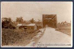TARJETA POSTAL SAGUA, CUBA. PUENTE PASO (Postales - Postales Extranjero - América - Cuba)