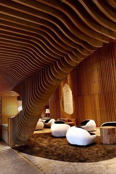 Tianxi Oriental Club. Espectacular diseño interior