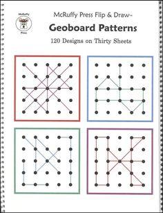 Geoboard Patterns Flip & Draw Book
