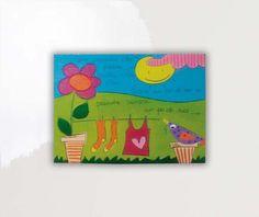 SALVADORIARTE dipinto a mano - quadro 31x26 - decorazione arredo casa aforisma M