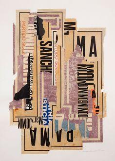 Domingo - collage - Elaine Lustig Cohen