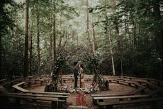 This Eclectic Prince William Forest Park Wedding is Just Ridiculously Beautiful