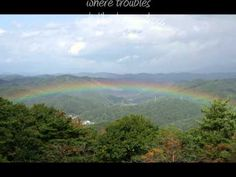 ▶ Somewhere Over the Rainbow by Eva Cassidy with lyrics - YouTube Best version of Over the Rainbow Ever; Hands Down......She was taken way to soon. Her singing is beautiful, but her bio is even more beautiful; and heartbreaking.