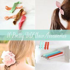 10 Pretty DIY Hair Accessories