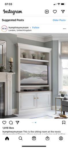English Kitchens, Home Furniture, Shelving, Beautiful Homes, Kitchen Design, Living Room, Interior Design, Bedroom, Humphrey Munson