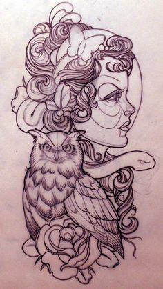 #tattoo #owl