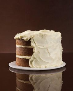 Before you make your next cake, browse this collection of frosting recipes. They're spoon-licking good! We've got dark-chocolate ganache, basic buttercream, cream cheese frosting, and more. Classic Frosting Recipe, Frosting Recipes, Cake Recipes, Dessert Recipes, Frosting Tips, Frosting Techniques, Cheese Recipes, Pumpkin Recipes, Cupcakes