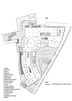 ARG Shopping Mall,Ground floor Plan