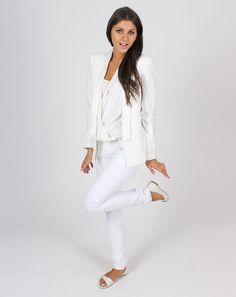 Total look blanc - Vila, Max Volmary - Maison Scotch - Bruno Premi