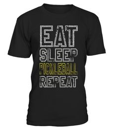 """# Eat Sleep Pickleball Repeat T-shirt. Pickleball Lover Gifts .  Special Offer, not available in shops      Comes in a variety of styles and colours      Buy yours now before it is too late!      Secured payment via Visa / Mastercard / Amex / PayPal      How to place an order            Choose the model from the drop-down menu      Click on """"Buy it now""""      Choose the size and the quantity      Add your delivery address and bank details      And that's it!      Tags: Pickleball tshirt…"""
