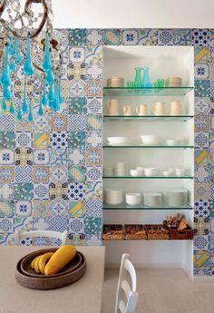 tiled wall   ♥