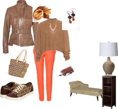 """""""CASUAL MICHEAL KORS OUTFIT"""" by evelyn-wade on Polyvore"""