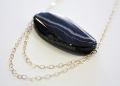 Polished Rock Necklace    by Frieda Sophie