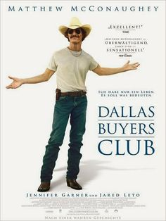 007c2f60e4a High resolution official theatrical movie poster ( of for Dallas Buyers  Club Image dimensions  1443 x Directed by Jean-Marc Vallée.