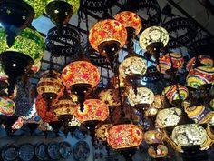 Turkish lamps