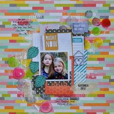 Right Now by. @Denise Morrison created with the #CocoaDaisyKits December 2012 kit Hello, My Name is...