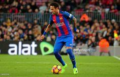 Neymar Jr. during La Liga match between F.C. Barcelona v Sporting de Gijion, in Barcelona, on march 01, 2017.
