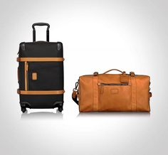 """Pack smartly and stylishly with Tumi 1975 Luggage. This handsome collection is named after Tumi's founding year, 1975, and was created to commemorate 40 years of """"design excellence and outstanding product innovation."""""""