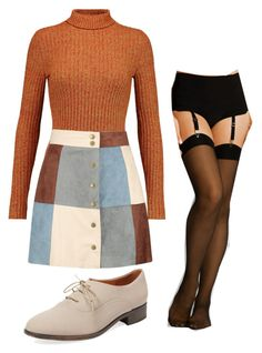 """Good Girls Revolt"" by thecutestrebel on Polyvore featuring Just Cavalli, Boohoo, Wolford and Alex + Alex"