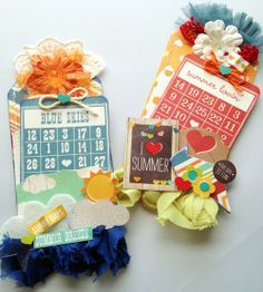 Simple Stories SN@P Gift Tags - using Pockets  Get Simple Stories at www.craftysteals.com