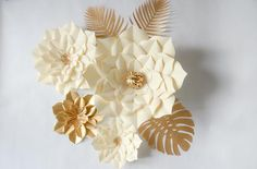 Dried Flower Bouquet, Dried Flowers, Paper Flower Backdrop, Paper Flowers, Orchid Flower Plant, Wedding Reception Program, Beach Centerpieces, Paper Flower Patterns, Baby Shower Signs