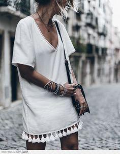 Cute little white  dress for the  summer. Dresses For Summer 81562f80f24