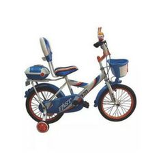 Hlx Nmc Bicycle - Kids Cycle To Learn Individual Riding - shop with lust shopping in india Kids Cycle, Rubber Tires, Tricycle, New Product, Cycling, Blue And White, Learning, Cod, Lust