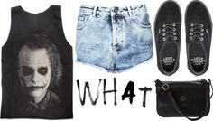 """""""why so serious"""" by paula-margarite ❤ liked on Polyvore"""