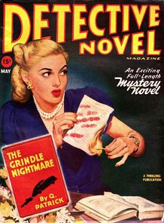 Detective Novel Magazine - May 1947