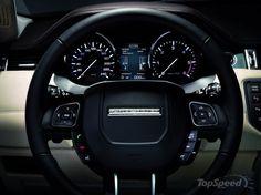 Evoque's Steering + Meters