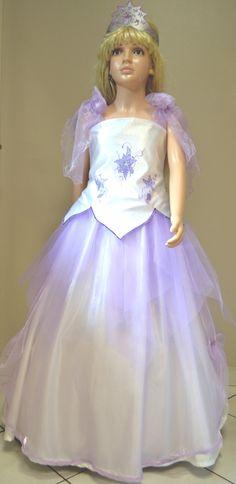 Robe de Princesse ou de cérémonie 7/ 8 ans mauve : Autres par nemri