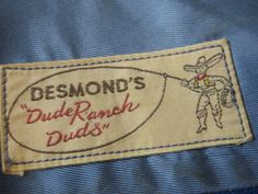 Desmond's label