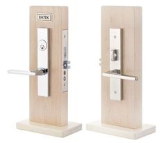 Brisbane Mortise | Contemporary Lock Sets | Mortise Knob by Knob / Lever by Lever Entry Sets | Emtek Products, Inc.