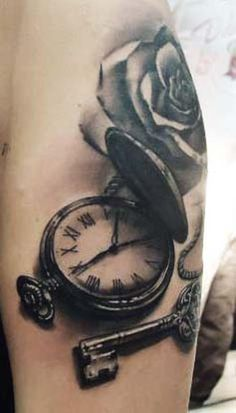 Tattoo by Matteo Pasqualin. Love it, except for the rose, not a fan of rose tattoos personally, but each to there own.