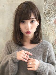 【RUVUA】山田信夫 大人かわいい ワンカールセミディースタイル - 24時間いつでもWEB予約OK!ヘアスタイル10万点以上掲載!お気に入りの髪型、人気のヘアスタイルを探すならKirei Style[キレイスタイル]で。