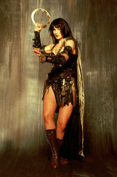 Lucy Lawless as Xena the Warrior Princess (1995)