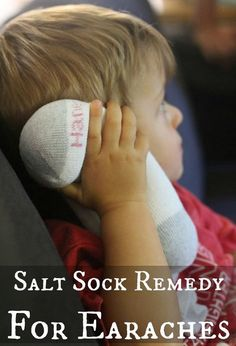 How To Make A Soothing Salt Sock For Earaches